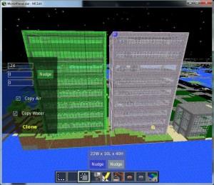 Добавление блоков в строение