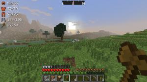 Показ прочности предметов и брони Minecraft