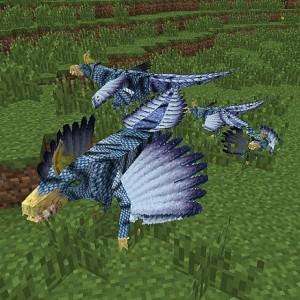 Пример моба в равнине Minecraft