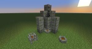 камин в minecraft