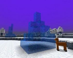 Волшебный ледяной столб