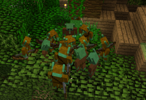Несколько гоблинов на дереве