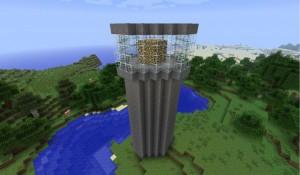 Маяк в игре Minecraft