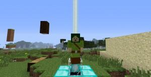 Злобный моб в Minecraft