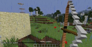 Лук в игре Minecraft