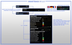 SmartBags для TESO Скачать