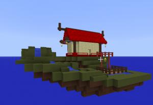 Первоначальный вид дома