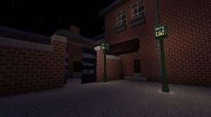 Доктор Кто в игре Minecraft