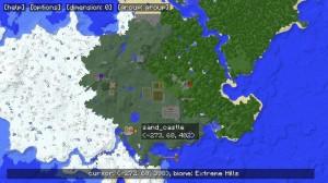 Карта на полный экран