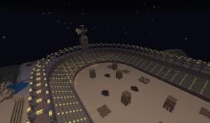 Битва между игроками в Minecraft