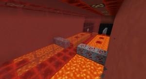 Ямы с лавой в Minecraft
