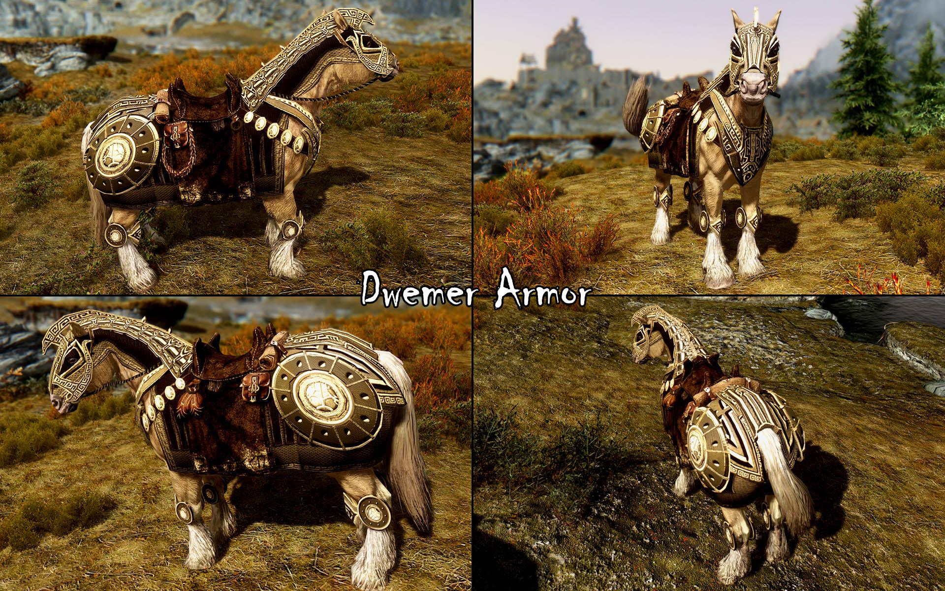 Скачать мод для скайрим спутники на лошадях