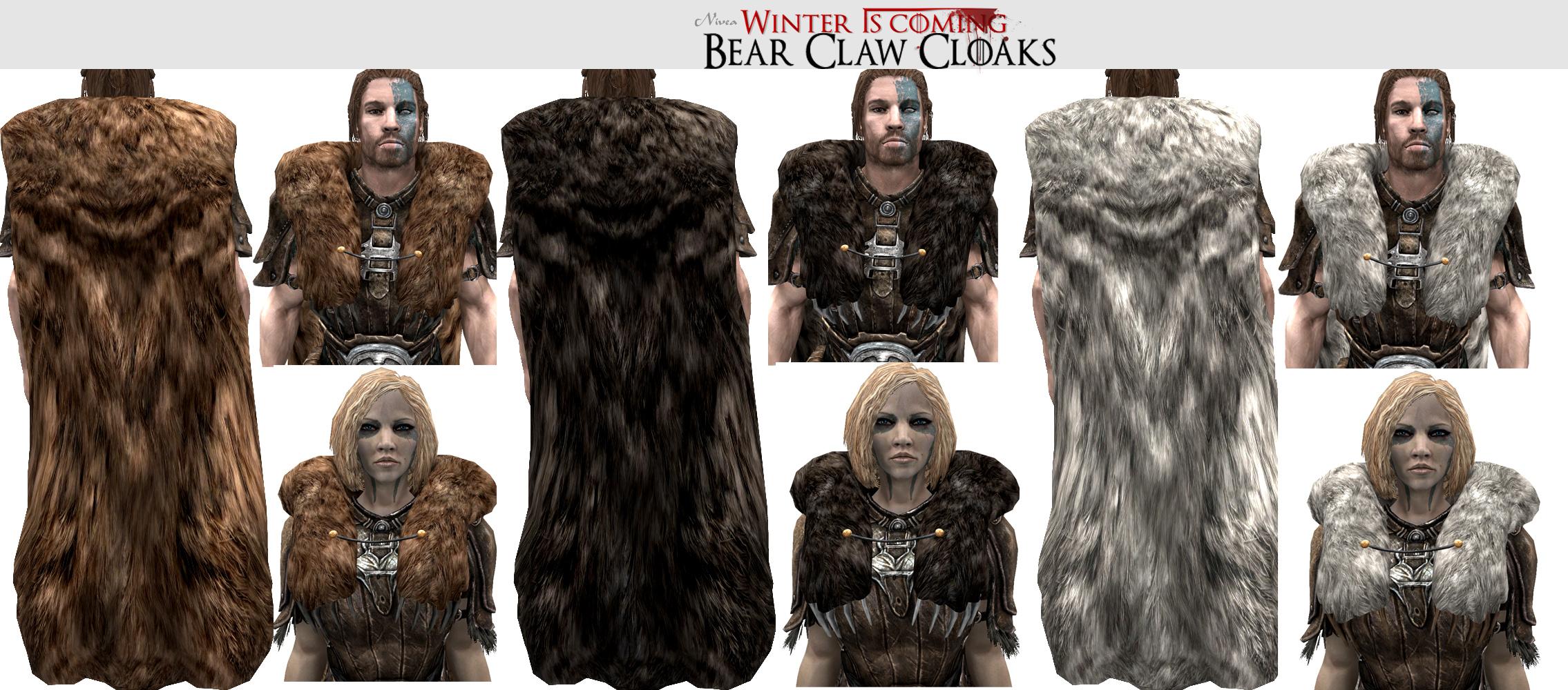 Skyrim Frostfall Fur Crafting Kit