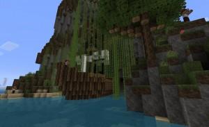 Остров в Minecraft