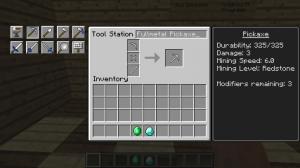 Модернизация вещей в Minecraft