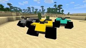 Вездеходы в Minecraft