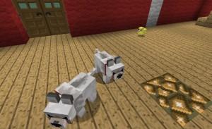 Детеныши волков Minecraft