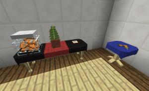 Мебель в майнкрафте