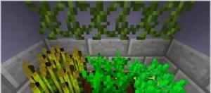 Объемные растения Minecraft