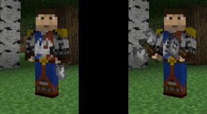 Горячая клавиша смены оружия Minecraft
