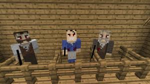 Мобы с оружием в Minecraft