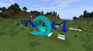 Аттракцион в Minecraft
