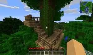 Новые постройки в Minecraft