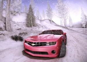 Снежная дорога в GTA SA