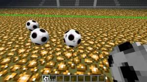 Футбол в игре Minecraft