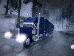 Снежный трейлер