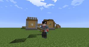 Удобный пояс для Minecraft