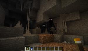 Генерация шахт в Minecraft
