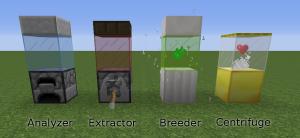 Приборы для работы с ДНК Minecraft