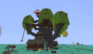 Новые виды построек в Minecraft