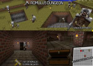 Сокровищницы, замки в Minecraft