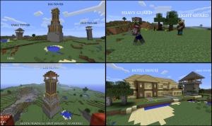 Деревни в Minecraft