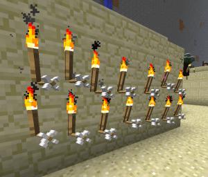 Много стрел в Minecraft