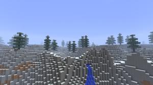 Альпийские горы в Minecraft