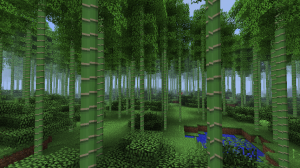 Бамбук в Minecraft