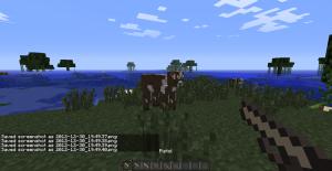 Винтовка в Minecraft