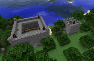 Автоматическая генерация деревни в Minecraft