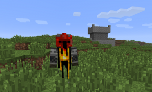 Новый воин в Minecraft
