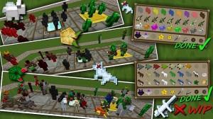 Война в Minecraft