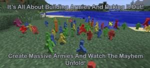 Мод добавляет солдатов в Minecraft