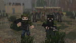 Много воинов на сервере