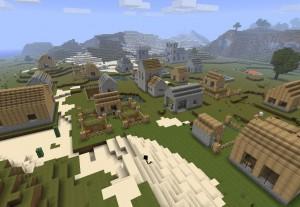 Виртуальные жители Minecraft