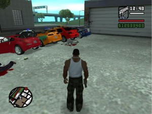 Гонки в GTA SA NFS