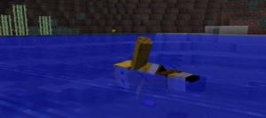 Анимация плавания в Minecraft