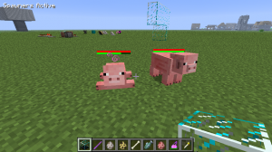 Ручные свинки в Minecraft
