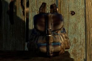 Leather backpack для skyrim скачать.